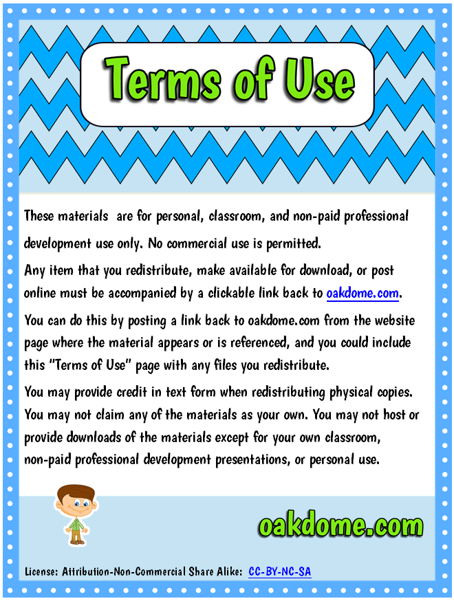 Terms Of Use >> K-5 Computer Lab - Terms of Use