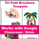 Google Classroom - Tri Fold Brochure Template