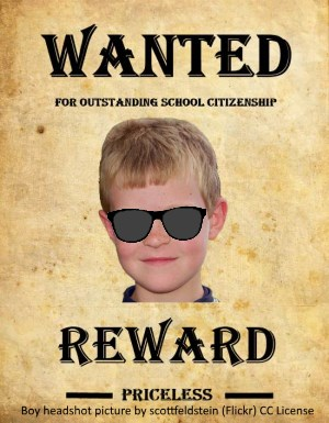 Wanted Poster Finished Example