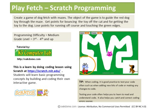 scratch maze game instructions