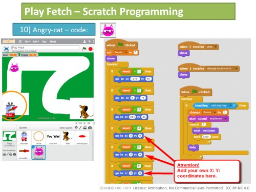 coding for kids play fetch scratch project