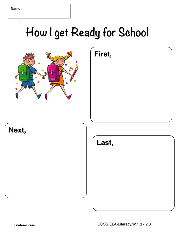 Teaching story writing in grades 1-3 with My Story Maker