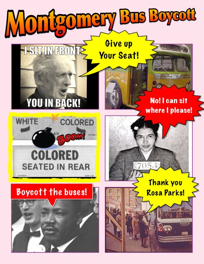 montgomery bus boycott essay Essay the montgomery bus boycott the montgomery bus boycott changed the way people lived and reacted to each other the american civil rights movement began a long time ago, as early as the seventeenth century, with blacks and whites all protesting slavery together.