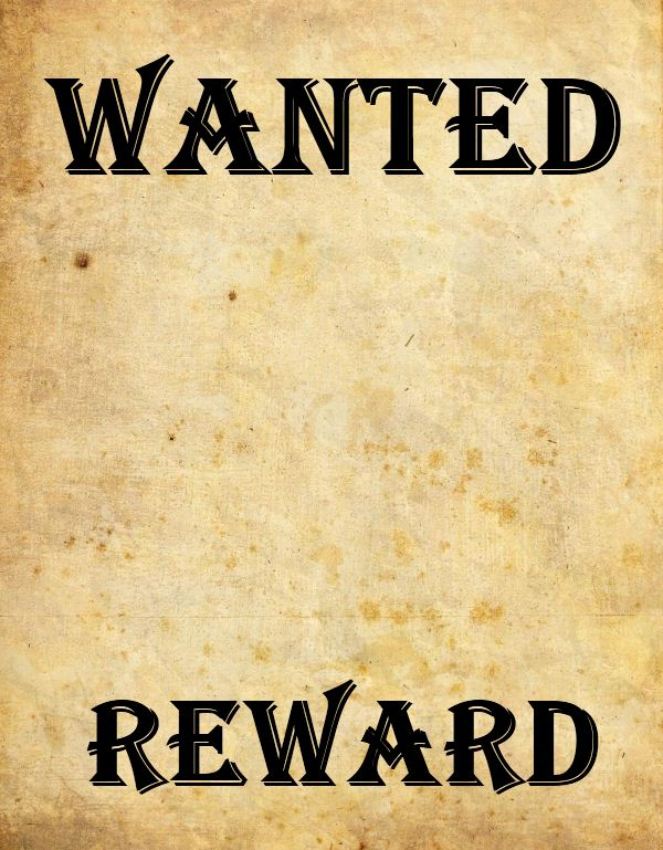 free wanted poster template - create a wanted poster k 5 computer lab technology lessons