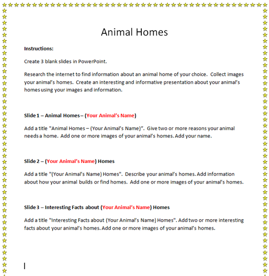 Homes Lesson Plans Primary Home Plan
