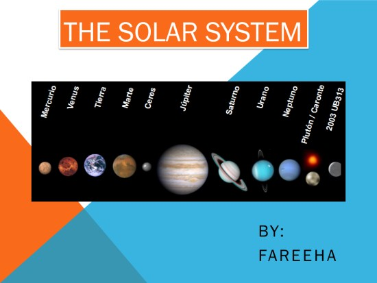 6th grade solar system powerpoints - photo #5