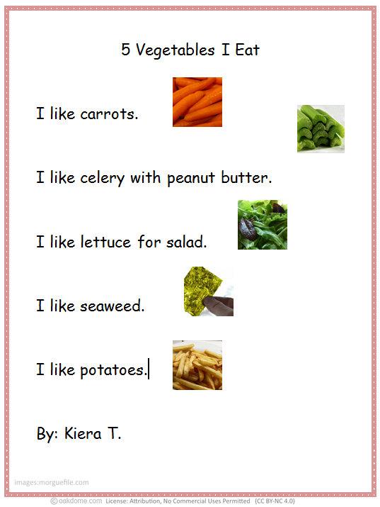 1st grade word processing