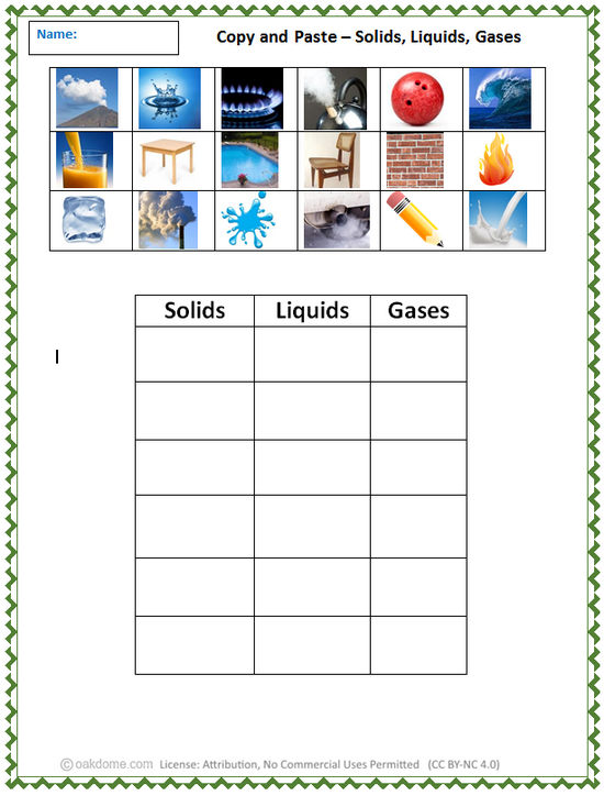 copy and paste solids liquids gases k 5 computer lab technology lesson plans. Black Bedroom Furniture Sets. Home Design Ideas