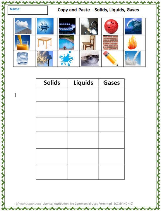 Copy and Paste - Solids, Liquids, Gases | K-5 Computer Lab ...