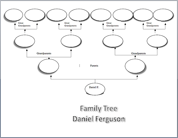 Make a family tree k 5 computer lab technology lessons family tree template made in word pronofoot35fo Gallery
