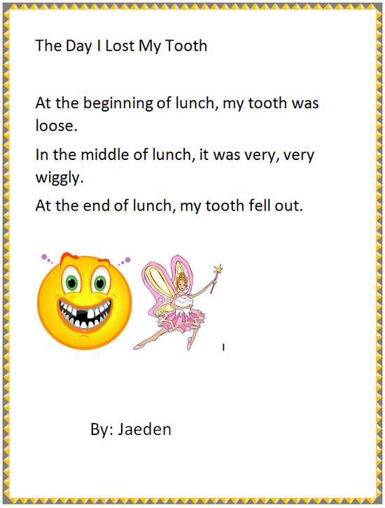 the day i lost my first tooth Our glossy 8x10 tooth fairy i lost my first tooth sign is a great a photo prop for  first day of kindergarten sign, first day of school sign, back to school sign.