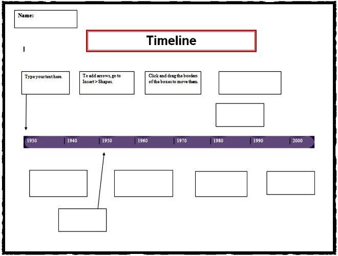 timeline template k 5 computer lab technology lessons. Black Bedroom Furniture Sets. Home Design Ideas