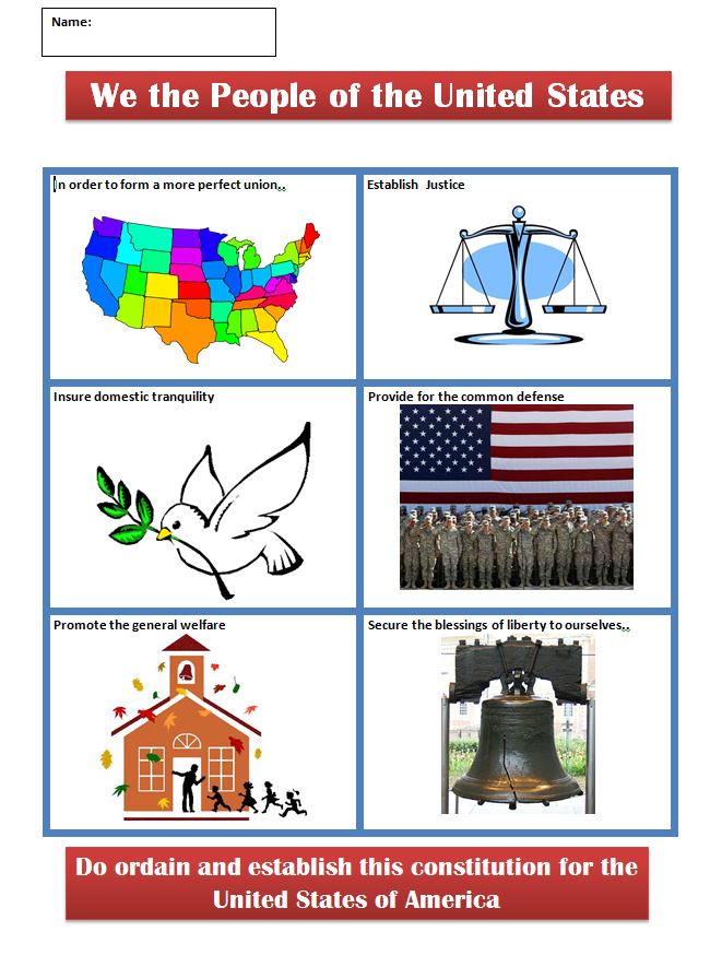 We The People | Technology Lesson Plan | K-5 Computer Lab