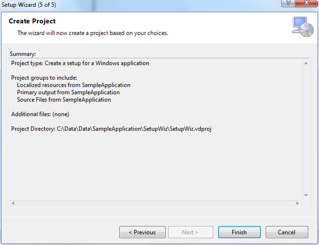 VS2005 Setup Project. How to prevent overwrite of existing installed file?