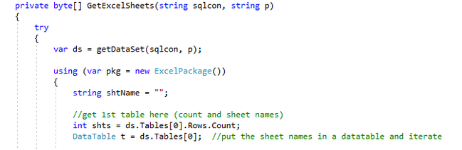 C Sharp  Net Core 2 2 EPPlus Console App - Excel Multiple