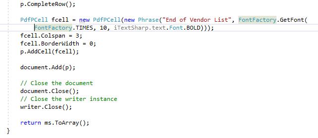 C Sharp  Net Core 2 2 Console App using iTextSharp