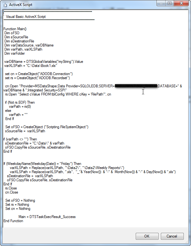 ssis package