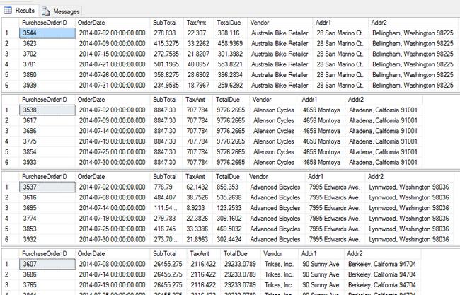 MS Word Mail Merge Letter using SQL Server