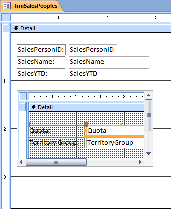 MS Access - Stored Procedure as Recordset for Forms