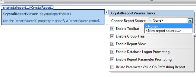 how to add crystal report in visual studio 2010 toolbox
