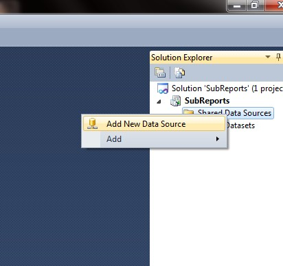 SSRS Using a Subreport